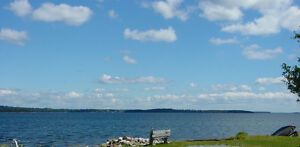 Oceanfront lot for sale on Mahone Bay, near Chester