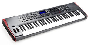 Novation Impulse 61 MIDI Keyboard Controller with stand