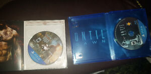 Ps4 games until dawn, and sleeping dogs mint condition 40$