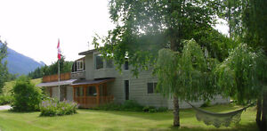 4 Bedroom Home in the Blaeberry (16 Klm West of Golden, B.C.)