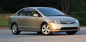 2007 Honda Civic EX new brakes and tires