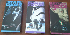 Star Wars Trilogy and Phantom Menace - VHS