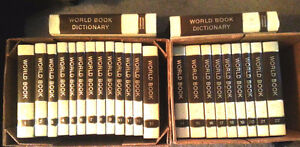 COMPLETE 1973 World Book Encyclopedia Set 22 + 2 volumes
