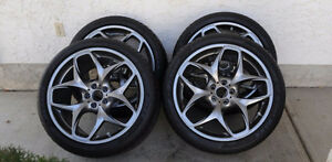 "22"" BMW Rims and tires"