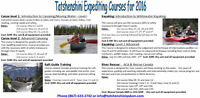 White Water Courses with Tatshenshini Expediting