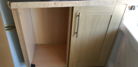 HOWDENS OAK COLOURED KITCHEN UNITS...VARIOUS
