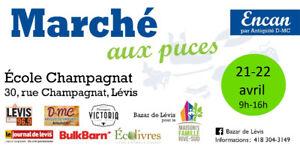 Bazar de Lévis 21-22  avril (marché aux puces)