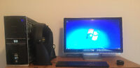 HP Pavilion Elite and HP Monitor