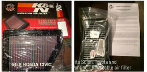 ****NEW**** Reuseable air filter - Civic, Scion, Toyota, Pontiac