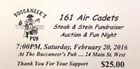 Steak and Stein to Support 161 Air Cadets