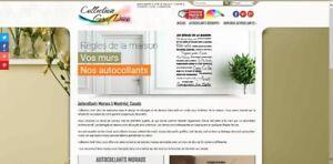 Commerce d'autocollants muraux décoratifs à vendre