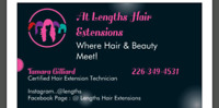 GRAND OPENING....AT LENGTHS HAIR EXTENSIONS