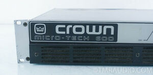 Crown MicroTech 600 Power Amplifier Windsor Region Ontario image 2