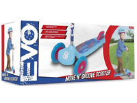 EVO Boys Move N Groove Scooter. last of stock buy today at only £ 13.99