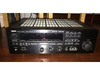 Yamaha rxv590rds amplifier