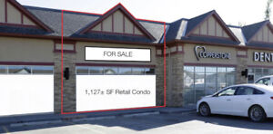 1,127 square foot Retail Unit For Sale in Copperfield, Calgary