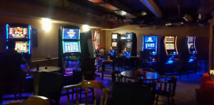 Video Gambling Machines with NS Liquor License & Bar Items