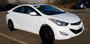 2013 Hyundai Elantra Coupe  (Ltd. Edition) 6 Speed Manual Trans
