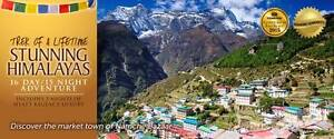 16 night Once In a Lifetime Mount Everest Base Camp Trek x 2 Iluka Joondalup Area Preview