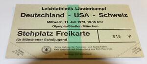 Two tickets Athletic 1978: Germany - USA United States - Switzerland in Munchen - <span itemprop='availableAtOrFrom'>Internet, Polska</span> - Two tickets Athletic 1978: Germany - USA United States - Switzerland in Munchen - Internet, Polska