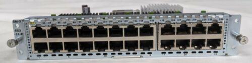 CISCO SM-X-ES3-24-P 24-Port GbE POE Layer 2/3 LAN SM-X for 2900/3900/4451-X RTR