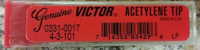 Victor 0331-0017 Cutting Tip4-3-101 Acetylene Only