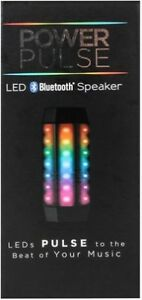 Power Pulse LED Bluetooth Speaker