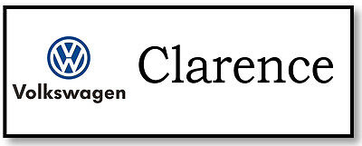 CLARENCE EVENT VOLKSWAGEN COMMERCIAL NAME BADGE & BUTTON HALLOWEEN PROP PIN BACK (Commercial Halloween Props)