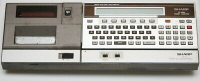 SHARP PC-1500A (1500)  POCKET COMPUTER, from 1982!