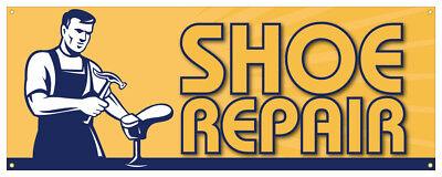 12 Shoe Repair Sticker Repair Retail Store Outdoor Decal Sign