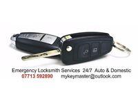 Emergency Locksmith Services 24/7 Auto & Domestic - 07713 592890