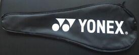 Black/White Full-Length Yonex Badminton Racket Cover