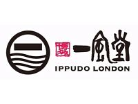 Kitchen Assistant Manager NEEDED Ippudo London Central St Giles / Canary Wharf