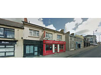 ONE BEDROOM FLAT TO RENT- MAIN STREET, DUNGIVEN