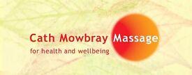 £10 off Holistic Massage/Deep Tissue Massage I hour treatment.