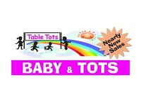 Table Tots Baby & Tots nearly new sale BRIGHOUSE