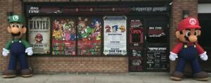 Big Time Gamers +Players Lounge - Now Open - New Video Game Store! - Retro Modern Current Games & Consoles