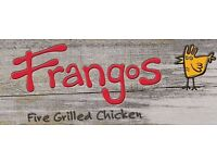 Kingston Frangos Recruiting for Full Time & Part Time Grill Chefs/ Grillers