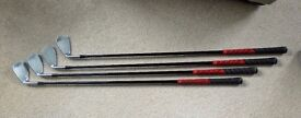 MIZUNO JPX800 HD . Set of 4 : 7-PW. Reduce your handicap. Only used one season . Real Bargain.
