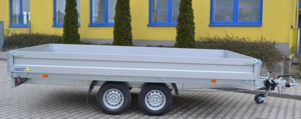 Agados Anhänger VZ 41 B2 Alu Express Hochlader 2700 kg in Weiden (Oberpfalz)