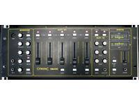 Vintage Citronic SM450 19 inch rack mount professional DJ mixer