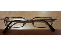 2 prescription eyeglasses - Used, 1 unglazed (D&G and Gucci), £48 together or individual prices