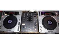 Pioneer CDJ800MK2 x2 - Pioneer DJM400