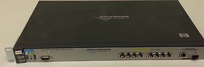 J8762A HP Procurve Switch 2600-8-PWR 8-PORT PoE 10/100 +1x