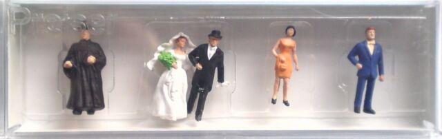 Preiser 14057 Wedding Group (Protestant) 00/H0 Model Railway