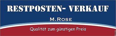 RESTPOSTEN VERKAUF M.Rose
