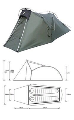 Wild Country Duolite 4 season tent  sc 1 th 286 & Wild Country Duolite 4 season tent | in Earls Court London | Gumtree