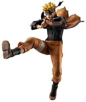 MegaHouse NARUTO Shippuden Uzumaki Naruto Ninja Big Battle Ver. Figure