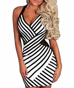 Sexy party dress black and white London Ontario image 1