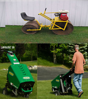 ** Lawn Aerating, Rolling, Dethatching, Fertilizing by Student
